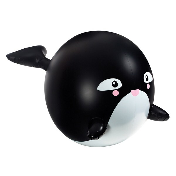 Toysmith Orca Whale Inflatable Sprinkler Buddy