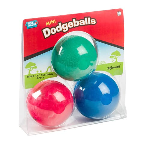 Toysmith Mini Dodge Ball Set - Red