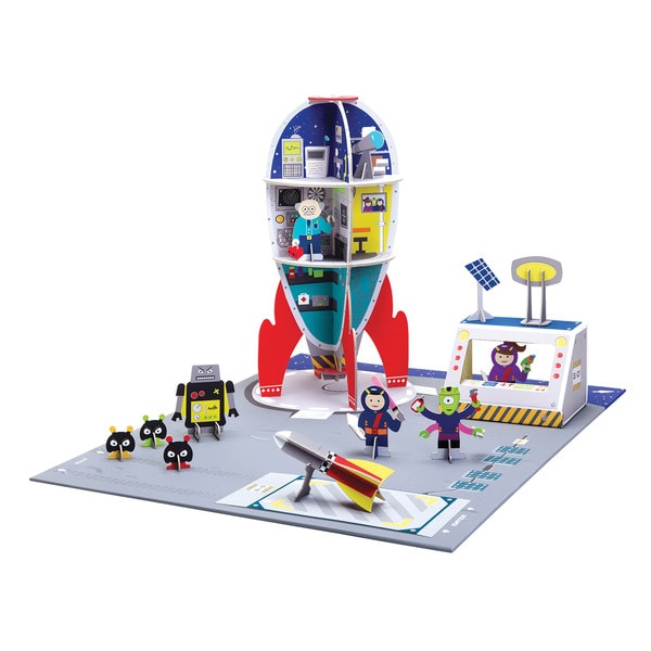 Krooom Space Station Playset