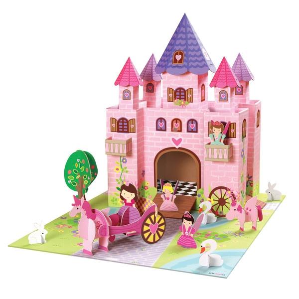 Krooom Fairy Castle Playset - Pink