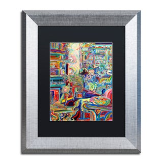 Josh Byer 'Moms' Matted Framed Art
