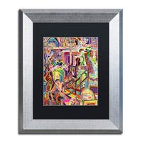 Josh Byer 'Cake' Matted Framed Art