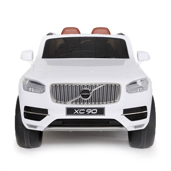 Best Ride-on Cars White Volvo XC90 12V