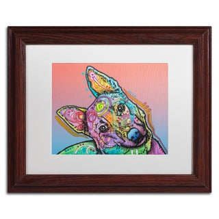 Dean Russo 'Abby Custom-4' Matted Framed Art
