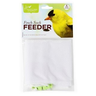 "Pacific Bird & Supply Co Inc 4.70"" X .20"" X 24""Nyjer Sock Feeder 2 Count"