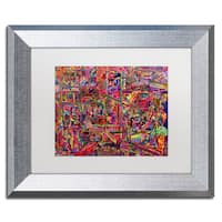 Josh Byer 'Millions Served' Matted Framed Art