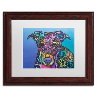 Dean Russo 'Maggie' Matted Framed Art
