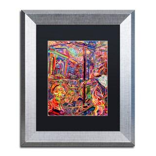 Josh Byer 'Rose' Matted Framed Art