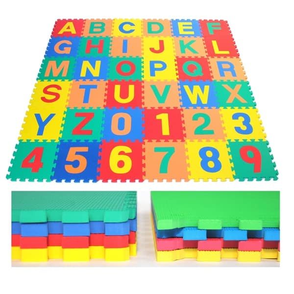 Foam Play Mat Puzzle Non Toxic