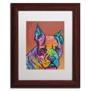 Dean Russo 'Priya' Matted Framed Art