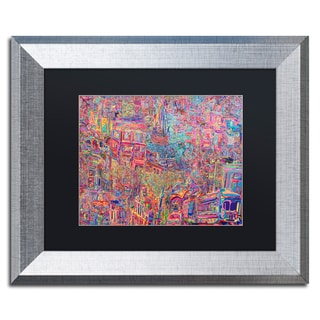 Josh Byer 'City' Matted Framed Art