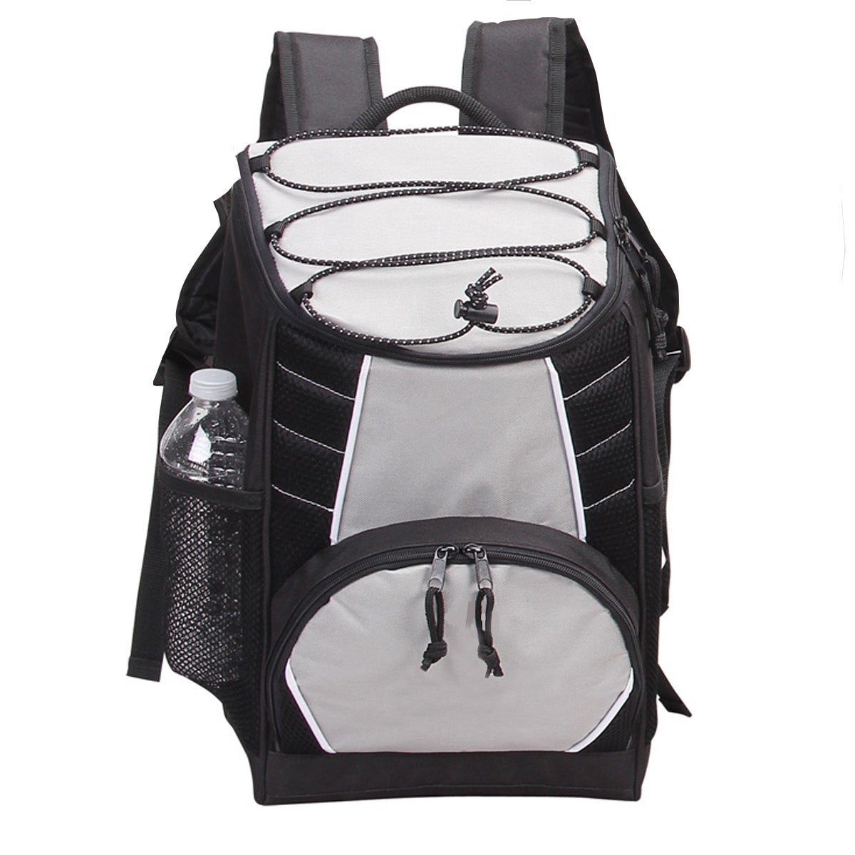 Preferred Nation Cooler Backpack (Black), Grey (Fabric, S...