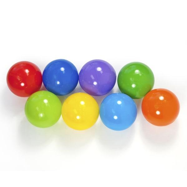 200 Wonder Playball Non-Toxic Crush Proof Quality Pit Balls w/ Mesh Bag: 8 Colors