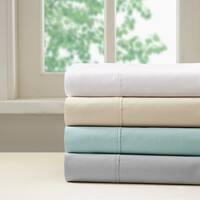 Madison Park 400 Thread Count Aloe Vera Cotton Pillowcases 4 Color Option