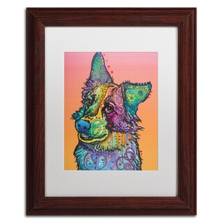 Dean Russo 'Axel' Matted Framed Art
