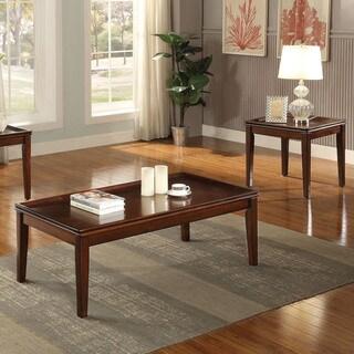 Acme Furniture Mariska Walnut Coffee and End Set (3-Piece Set)