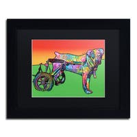 Dean Russo 'Ospa' Matted Framed Art