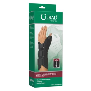 Curad Wrist and Forearm Split with Abducted Thumb