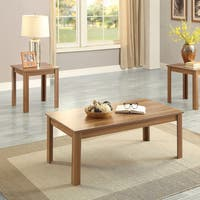 Acme Furniture Malena Oak Coffee and End Tables (Set of 3)
