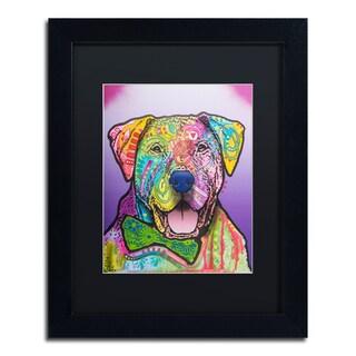 Dean Russo 'Charlie Brown Custom-002' Matted Framed Art
