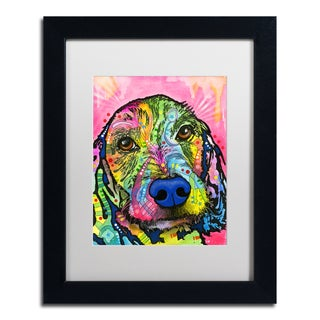 Dean Russo 'Take me Home Please' Matted Framed Art