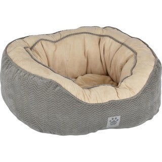 Precision Chevron Chenille Gusset Daydreamer Dog Bed