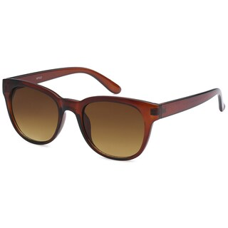 Mechaly Square Style MES2603 Unisex Brown Frame with Brown Lens Sunglasses