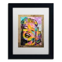 Dean Russo 'Marilyn' Matted Framed Art - Multi