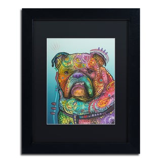 Dean Russo 'Vinny' Matted Framed Art