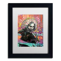 Dean Russo 'Jerry 1' Matted Framed Art - Multi