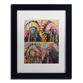 Dean Russo 'Chiefs Quadrant' Matted Framed Art