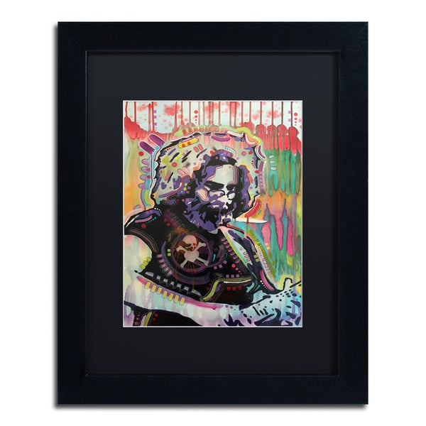 Dean Russo 'Jerry 2' Matted Framed Art - Multi