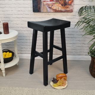 Trym Saddle Seat Bar Stool