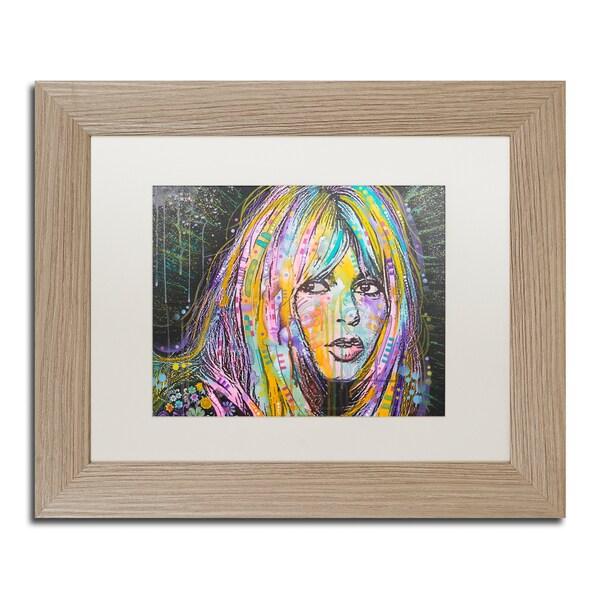 Dean Russo 'Bardot1' Matted Framed Art
