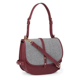 Steve Madden Mynes Flapover Crossbody Handbag