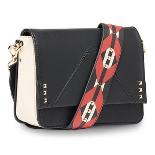 Steve Madden Scout Embellished Strap Crossbody Handbag