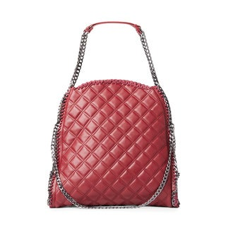 Steve Madden Totes Quilted Wine Tote Bag