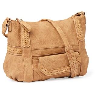 Steve Madden Hugh Small Whip Stitch Crossbody Handbag