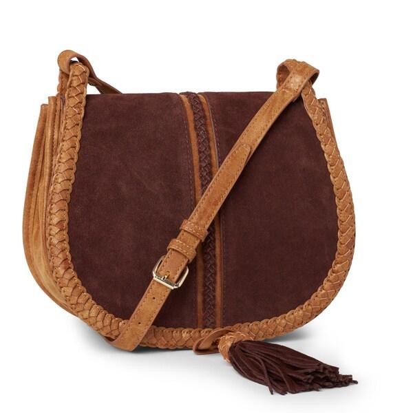Steven By Steve Madden Treviso Suede Crossbody Handbag