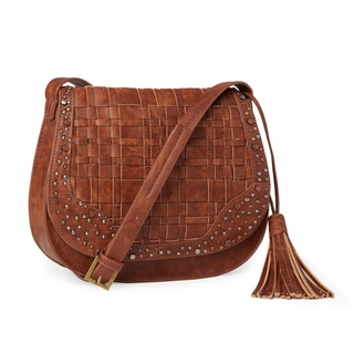 Steven by Steve Madden Pia Saddle Crossbody Handbag