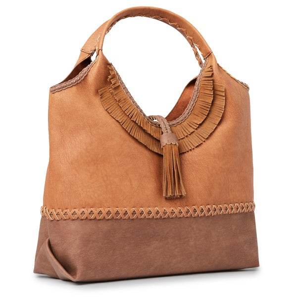 b1db3d9de0 Shop Steven by Steve Madden Khloe Fringed Hobo Handbag - Ships To ...