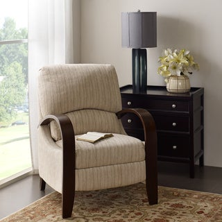 Madison Park Brydon Tan Multi Bent Arm Recliner