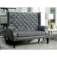 Furniture of America Ellian Contemporary Loveseat Bench
