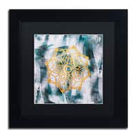 Lisa Powell Braun 'Mandala' Matted Framed Art