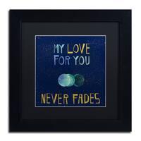 Lisa Powell Braun 'Love' Matted Framed Art