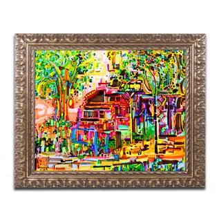 Josh Byer 'We Can Live Here' Ornate Framed Art