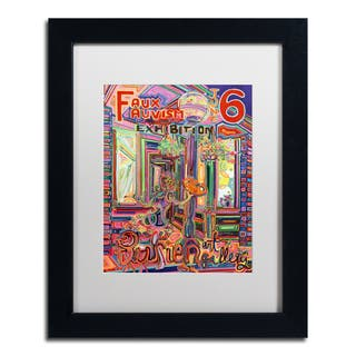 Josh Byer 'Exhibition No 1' Matted Framed Art https://ak1.ostkcdn.com/images/products/15232864/P21707161.jpg?impolicy=medium