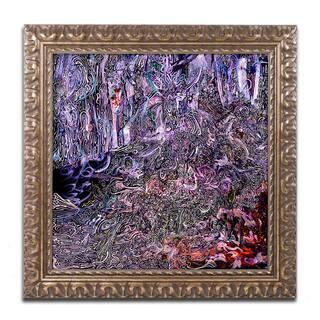 Josh Byer 'Midnight Campsite' Ornate Framed Art https://ak1.ostkcdn.com/images/products/15232911/P21707192.jpg?impolicy=medium