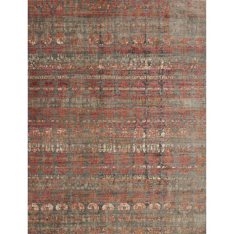 "Alexander Home Genova Bohemian Abstract Rug - 2'6"" x 4'"