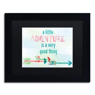 Lisa Powell Braun 'Adventure' Matted Framed Art